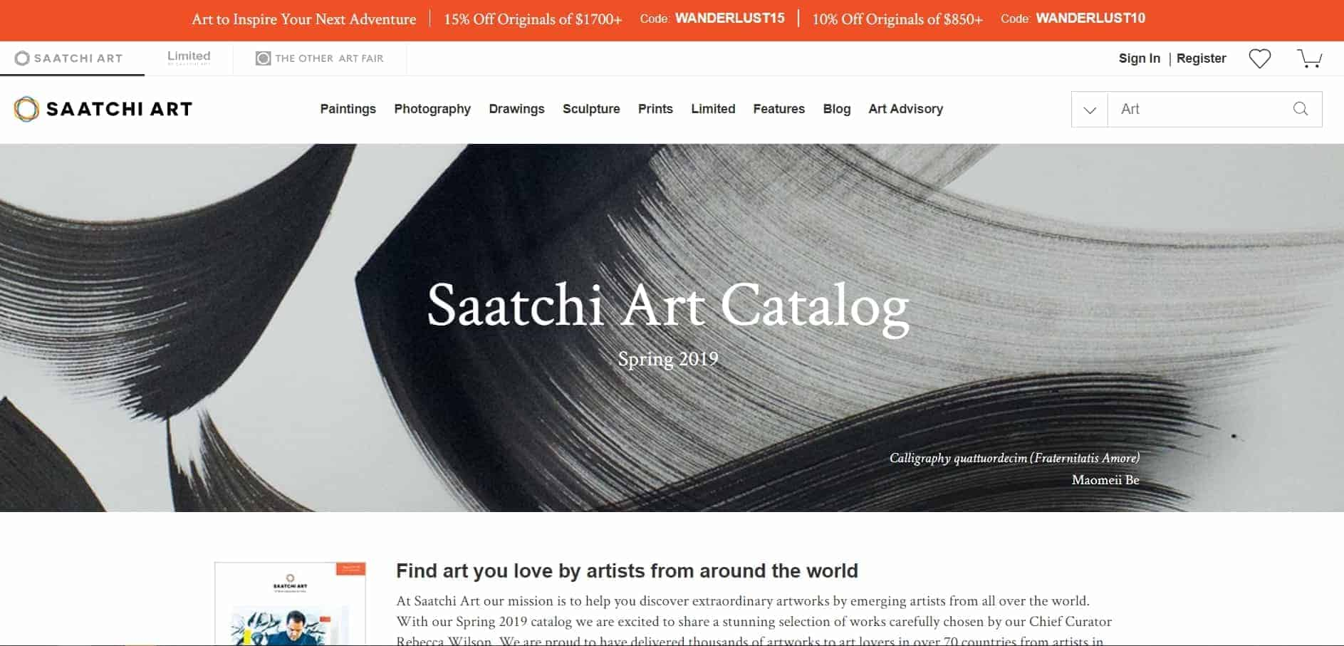 Saatchi Art Review