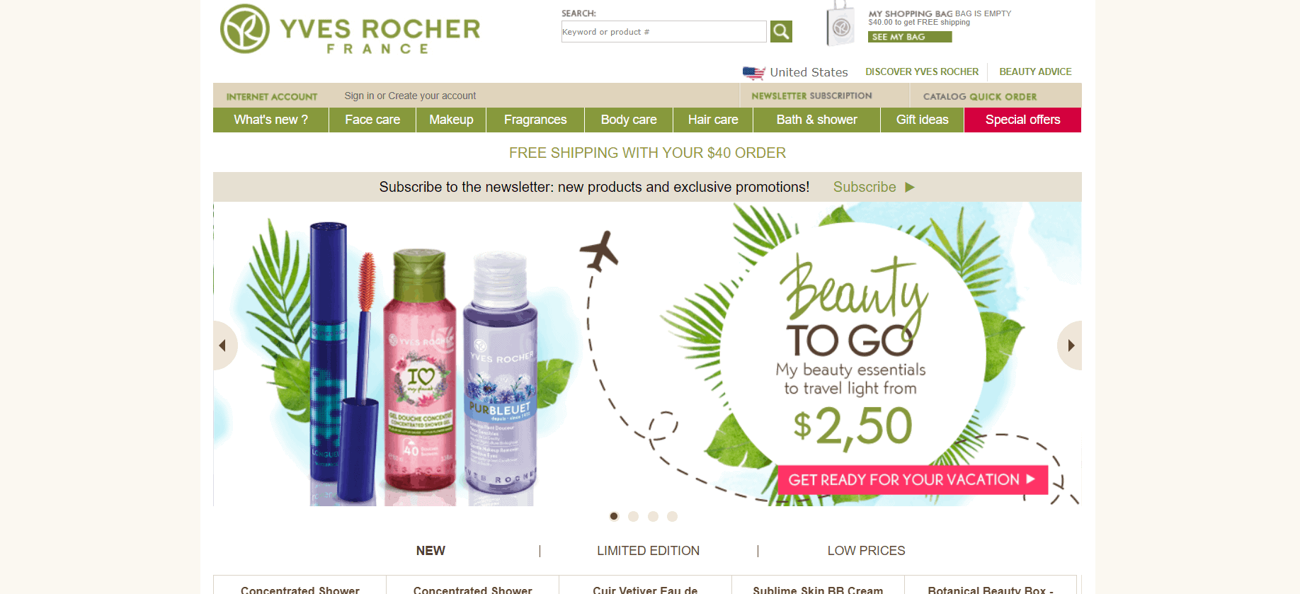 Yves Rocher France Review