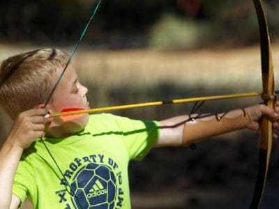 Nerf toy archery set