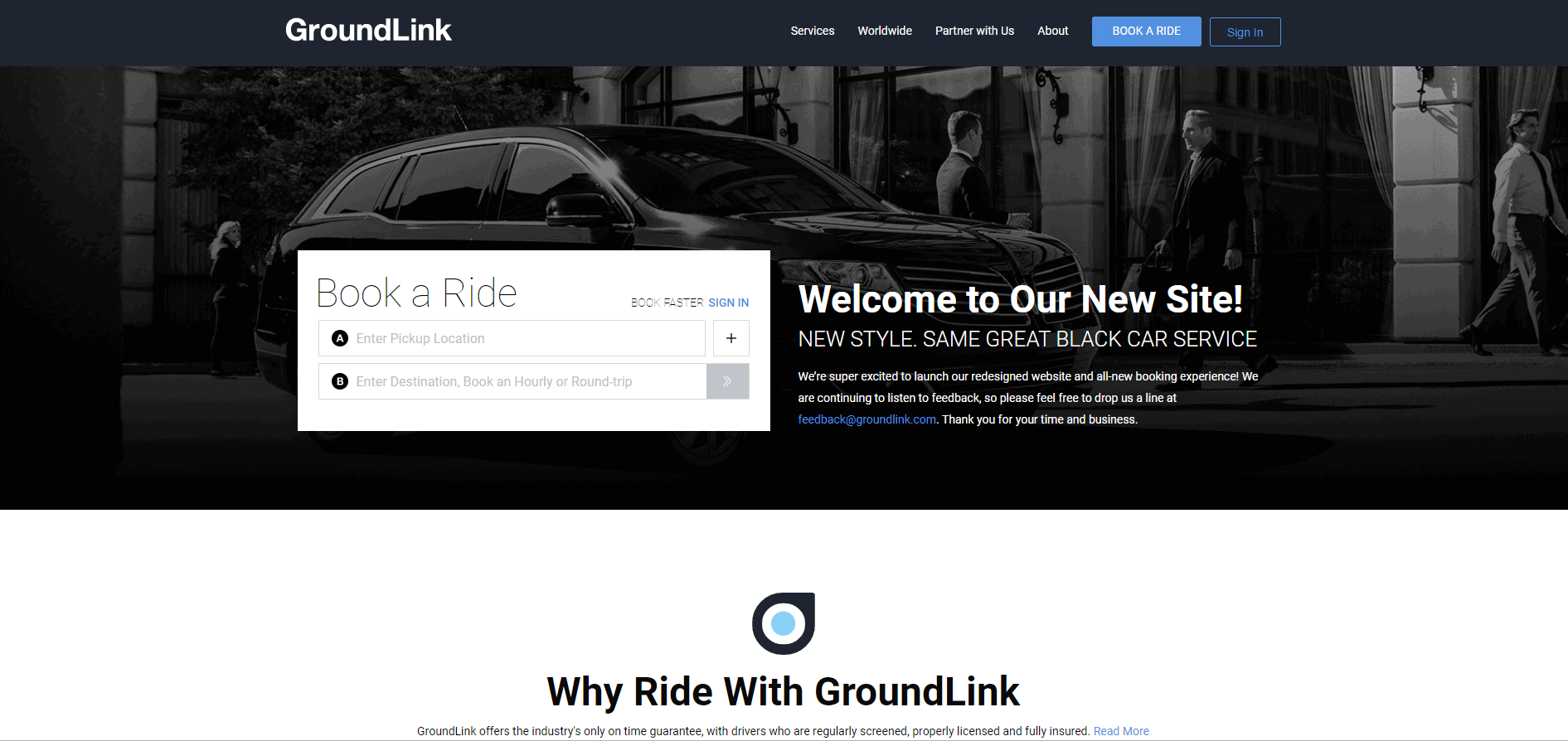 groundlink black car service review