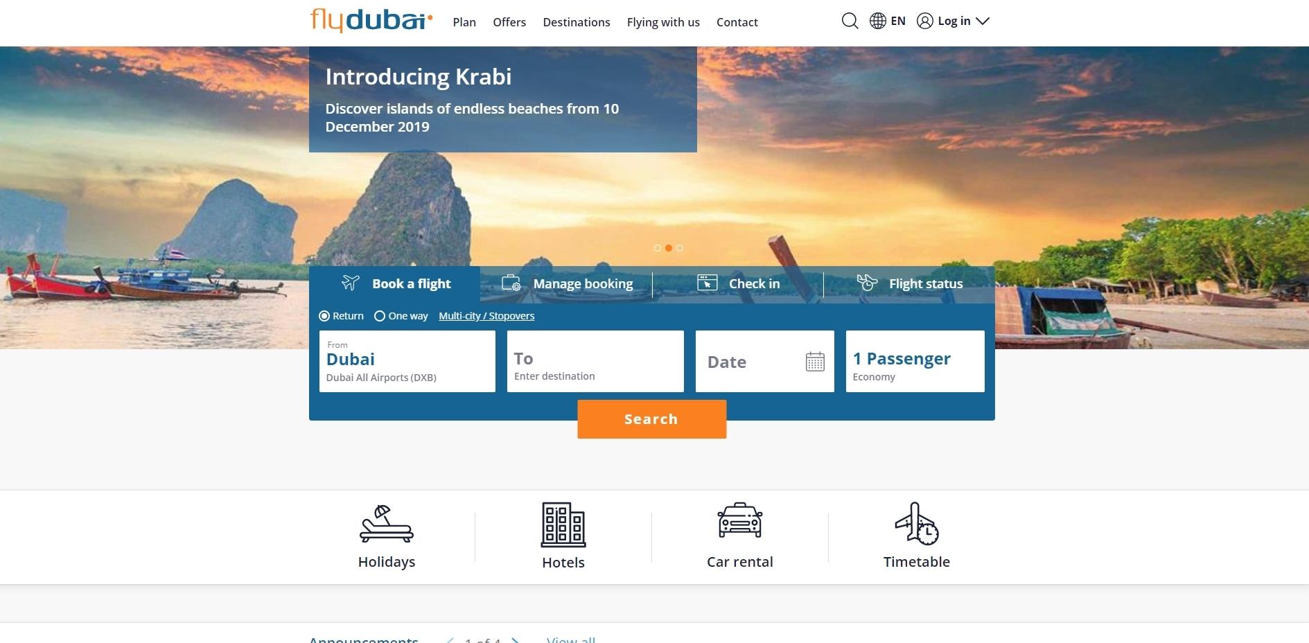 flydubai.com review